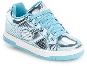 Girl's Heelys 'Split Chrome' Skate Sneaker $60 thestylecure.com