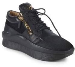 Giuseppe Zanotti Textured Platform Sneakers