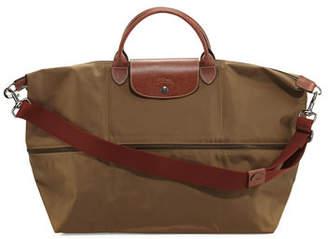 Longchamp Le Pliage Expandable Travel Bag $255 thestylecure.com