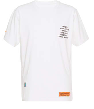 Heron Preston Metal Worker Cotton T-Shirt