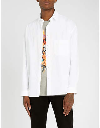 The Kooples Oversized cotton shirt