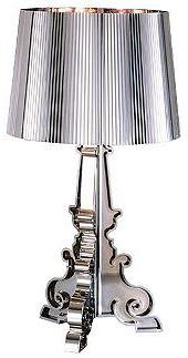 Bourgie Table Lamp, Chrome