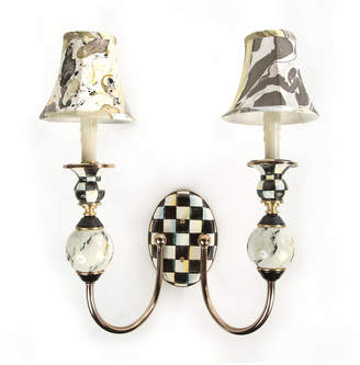 Mackenzie Childs MacKenzie-Childs Courtly Palazzo Double Sconce