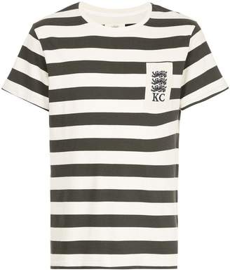 Kent & Curwen striped crewneck T-shirt