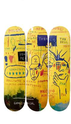 The Skateroom Jean-michel basquiat's hollywood africans, 1983