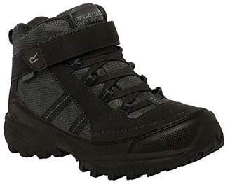 Regatta Boys & Girls Trailspace II Mid Waterproof Padded Walking Boots Polyurethane UK Size 3 (EU 36)