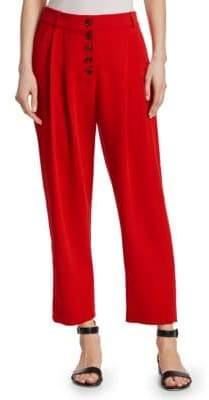 A.L.C. Russel Button-Front Pants
