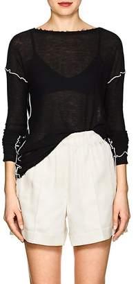 Helmut Lang Women's Lettuce-Edge Sweater