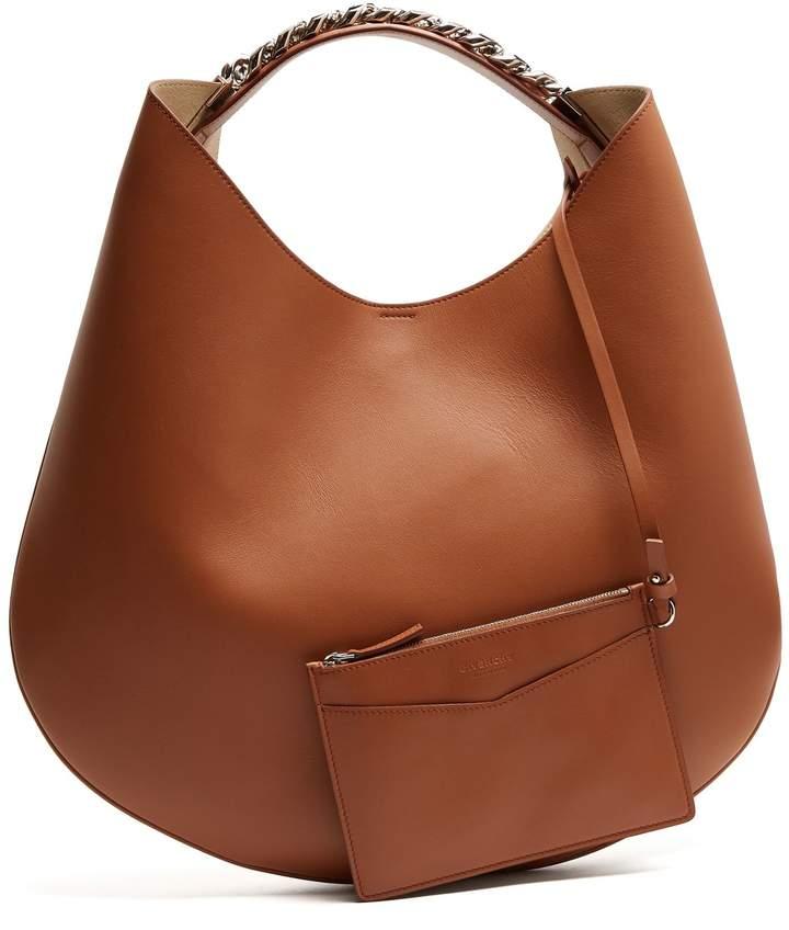 GIVENCHY Infinity medium leather chain hobo bag