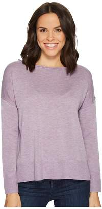 NYDJ Long Sleeve Sweater w/ Exposed Seams Women's Sweater