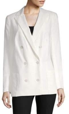 Akris Slim Double-Breasted Jacket