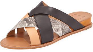 Dolce Vita Patrice Mixed-Media Slide Sandals