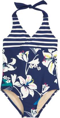 Tea Collection Tropical Lilies One-Piece Swimsuit