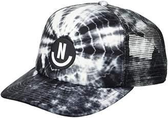 Neff Men's Smile Wash Mesh Hat-Flat Billed Trucker Cap