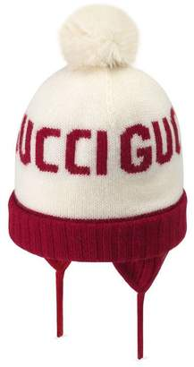 Gucci Baby jacquard wool hat