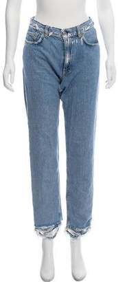 Acne Studios High-Rise Boy Indigo Jeans