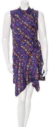 Isabel Marant Printed Silk Dress w/ Tags