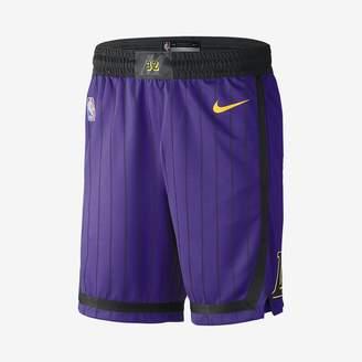 Nike Los Angeles Lakers City Edition Swingman Men's NBA Shorts