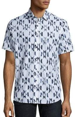 Robert Graham Parsis Printed Short Sleeve Shirt