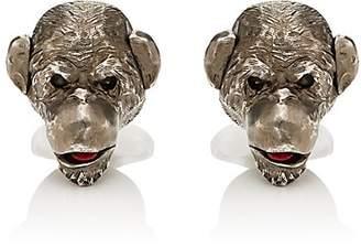 Deakin & Francis Men's Monkey Cufflinks - Brown
