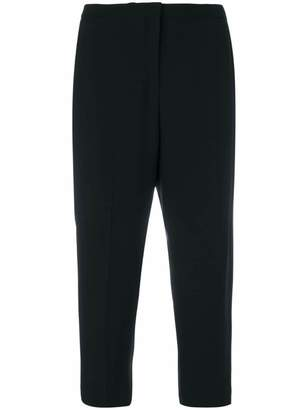 No.21 tapered crop trousers