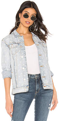superdown Kirsten Star Denim Jacket
