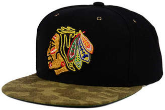 Ccm Chicago Blackhawks Fashion Camo Snapback Cap
