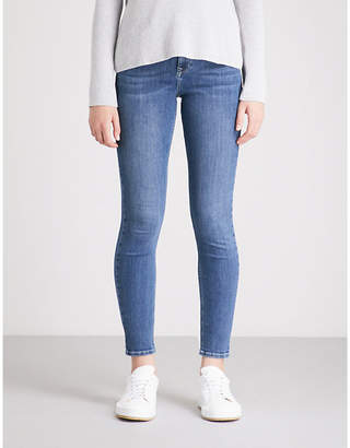 The White Company Symons skinny mid-rise jeans
