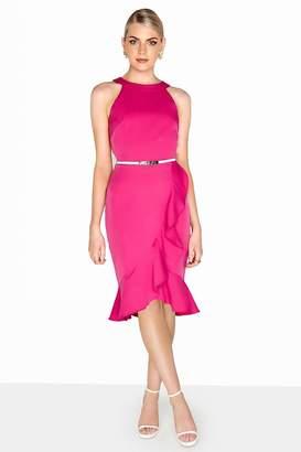 Paper Dolls Outlet Pink Frill Dress