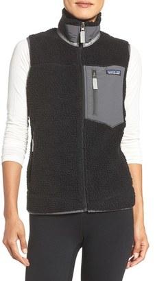 Women's Patagonia Classic Retro-X Fleece Vest $149 thestylecure.com