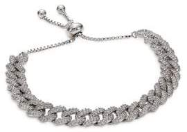 Fallon Armure Pave Curb Chain Toggle Bracelet