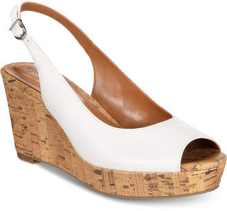Style&Co. Style & Co Sondire Platform Wedge Sandals