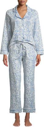 BedHead Cheetah Classic Pajama Set, Plus Size