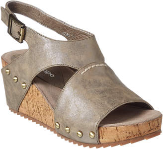 Antelope 585 Leather Wedge Sandal