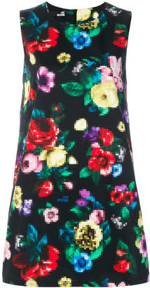 Love Moschino floral pixel dress