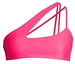 Mikoh Women's Queensland One-Shoulder Badeau Bikini Top