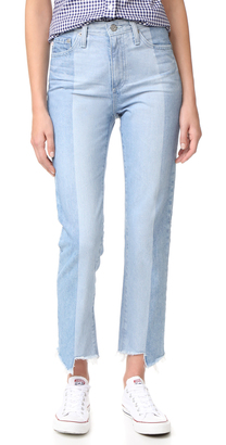 AG The Phoebe Vintage High Waist Jeans $325 thestylecure.com