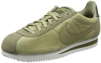 57291bf458 Nike Women's WMNS Classic Cortez Se Gymnastics Shoes, Green Neutral Olive/Mt  203