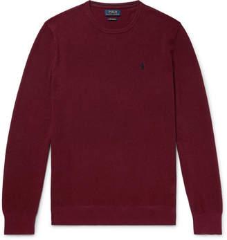 Polo Ralph Lauren Waffle-Knit Pima Cotton Sweater