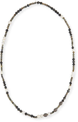 Hipchik Savannah Beaded Necklace, 43""