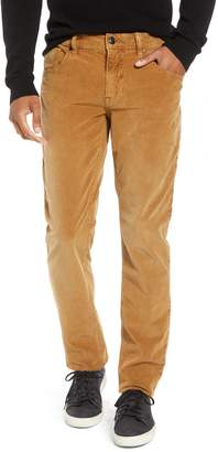 Hudson Jeans Blake Slim Fit Straight Leg Corduroy Pants