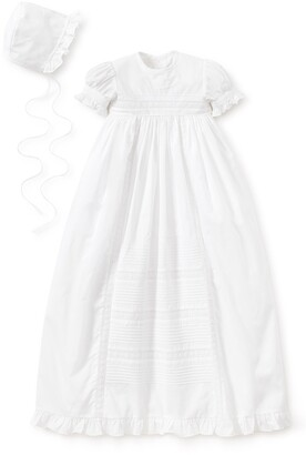 Kissy Kissy Nicole Christening Gown & Bonnet Set