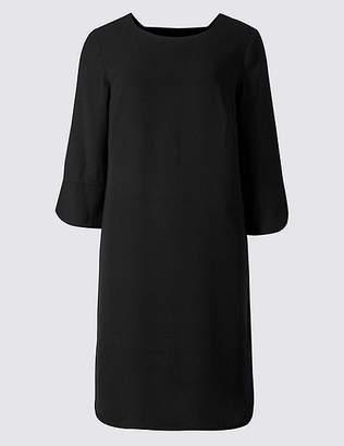 Marks and Spencer Bar Back 3/4 Sleeve Tunic Dress