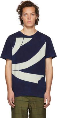 Blue Blue Japan Indigo Bassen Dye Harrai T-Shirt