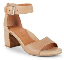 Gentle Souls Christa Leather Ankle Strap Sandals
