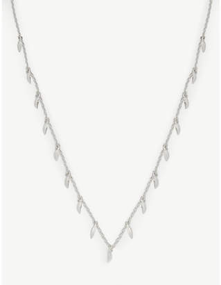 Missoma Mini Fang silver necklace
