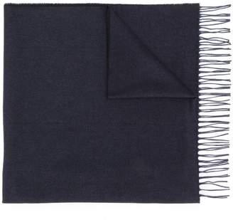 Ermenegildo Zegna fringed edge scarf