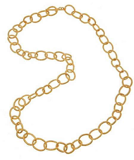 Evelyn Knight Chain Link Necklace