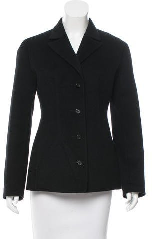 prada Prada Wool and Angora Blazer