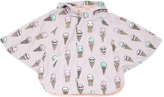 Stella McCartney Color Changing Ice Cream Nylon Coat